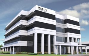 delta Faucet HQ expansion rendering 2 col