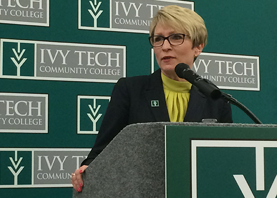 Sue Ellspermann takes Ivy Tech job