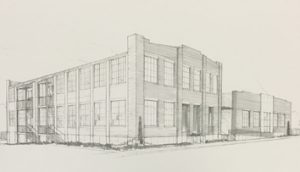REW Franklin building rendering 2col