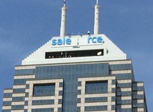salesforce sign going up