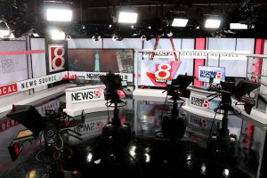 WISH TV set