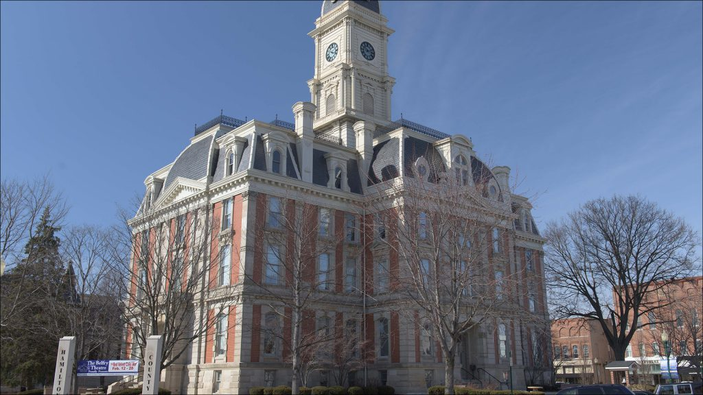 The 39,000-square-foot courthouse on the square in Noblesville was built in 1879.