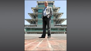 Jeff Belskus became CEO of the Indianapolis Motor Speedway and Indy Racing League July 1, replacing Tony George.