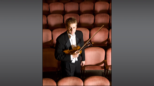 Zach De Pue, concertmaster of the Indianapolis Symphony Orchestra, was named one of IBJ's Forty under 40 this year.