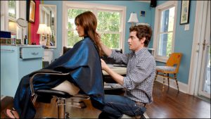 Phil Salmon, owner of Blue House salon downtown, opened his business in 2002. He now has more than 400 clients.