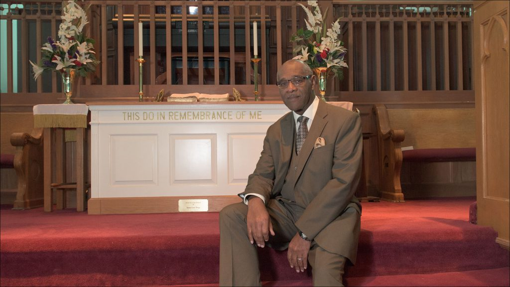 The Rev. Louis Parham is Bethel AME's pastor.