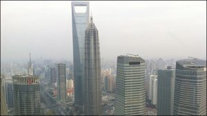 The 101-story Shanghai World Financial Center is the world's third-tallest building.