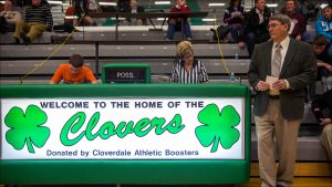 Rady has coached basketball for 50 years, for six different high schools, including the Clovers.