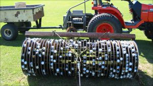 Rawhide Golf Ball Co.'s remote-retrieval system can recover 900 golf balls in one pass.