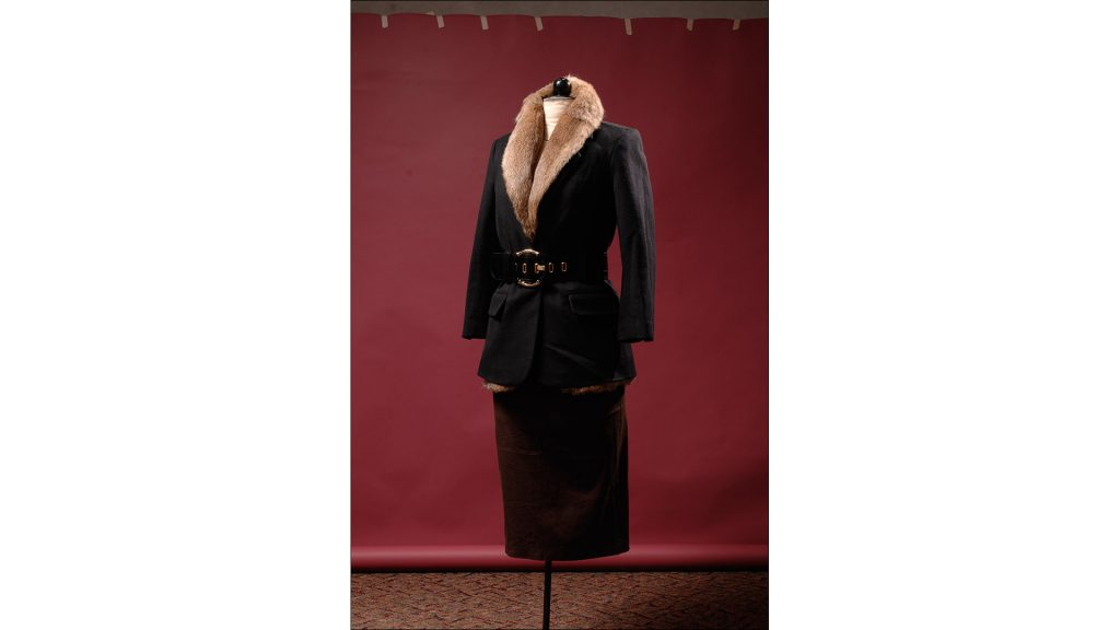 Black wool blazer with removable rabbit lining by Elizabeth and James, $795, at 8 Fifteen (6544 Ferguson St.)