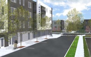 Glendale apartments rendering 550px