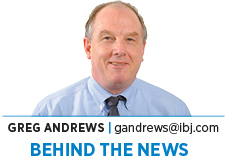 Behind the News: Greg Andrews