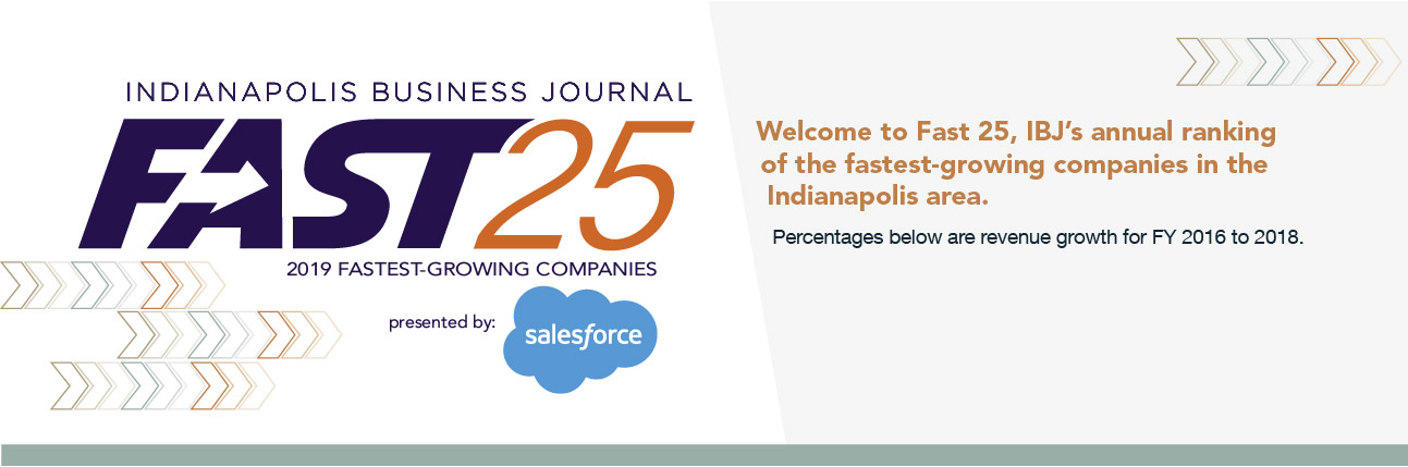 Fast25 - 2019 - Indianapolis Business Journal